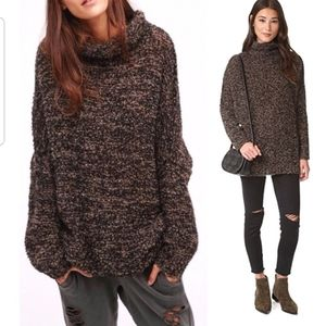 Free People Sweater She All That  Alpaca Sweater